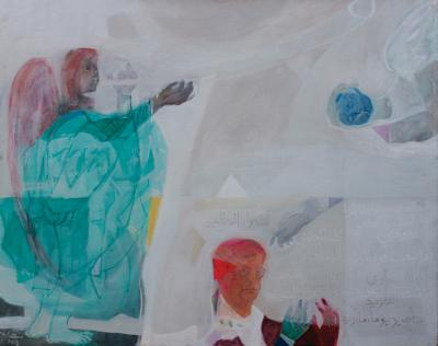 This is your name, 2010, acrylic on canvas,120x180cm.