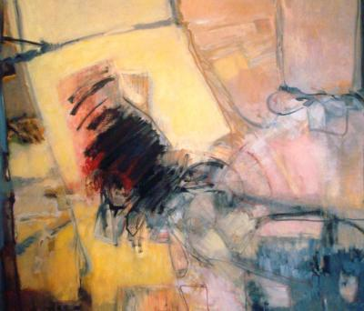 Ruins and Traces Series # 2, 2008, oil on canvas,130x150cm