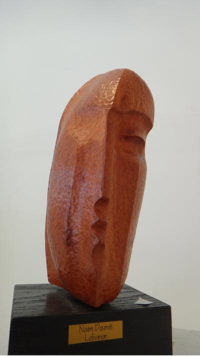 7- Face, Karroub, 35cm