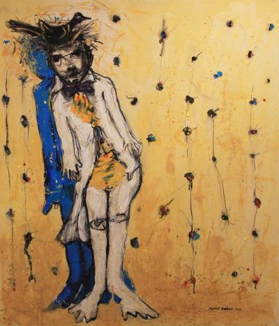 The Elegant One, 2012, acrylic on canvas, 120 x 100 cm