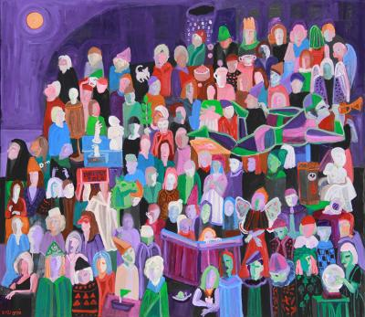 The lives of Others 4 | 2021 | acrylic on canvas | 120x140 cm