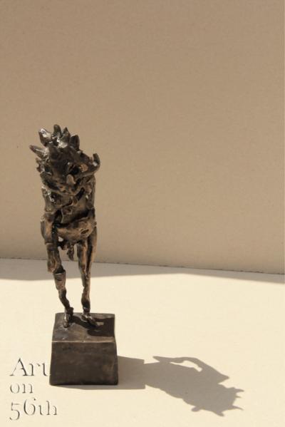 Untitled 24, 2017, Bronze, 15 x 7 cm