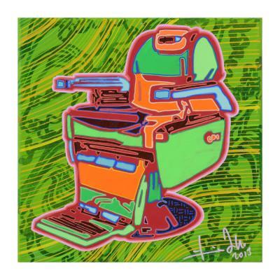 RTU178013, 2013, Acrylic on wood, 30 x 30 cm