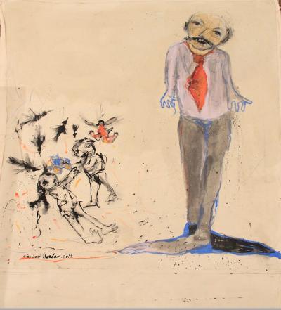 Mister, 2012, acrylic on canvas, 120 x 100 cm