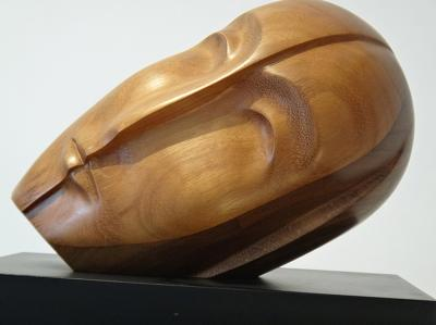 1- Wake up Brancusi, Teak wood, 37cm