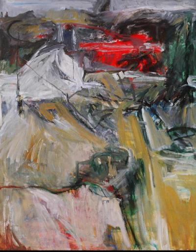 Untitled 2, 1994, oil on canvas,153x122cm