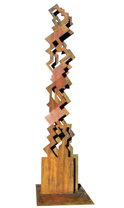 18- Totem Metal, iron, 200cm