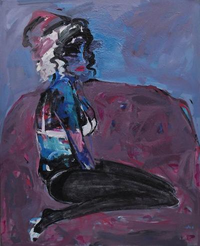 Untitled 50, 2012, acrylic on canvas, 160x130