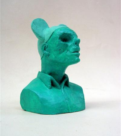 Mickey man, 2016, Resine Acrylic, 15x8x10.4cm