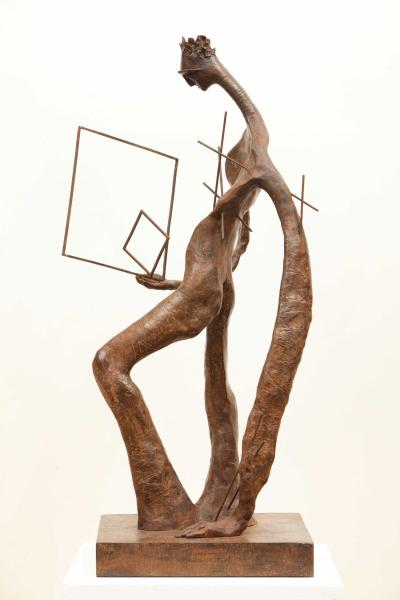 The Liberation, 2012,  Bronze  68 x 24 x 34 cm   #2/8