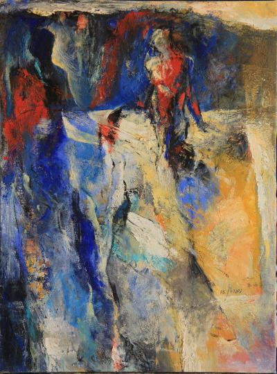 Untitled 25, 2005, oil on canvas, 60.5x45.5 cm cm