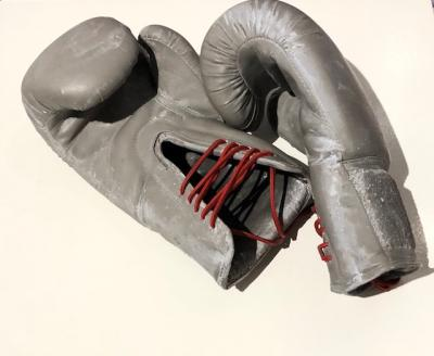Hard punch,1/8, 2019, gloves, 28 x 13 cm(Each)