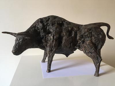 Untitled 35, 2017, Bronze 2/8, 50 x 34.5 cm
