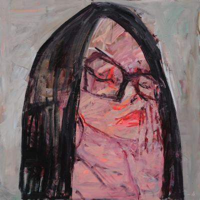 Untitled 10, 2015, Acrylic on canvas, 150x150cm