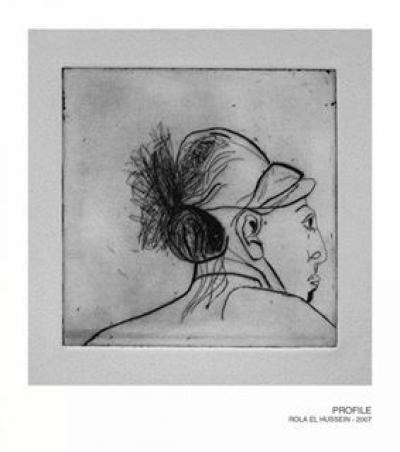 Profile, 2007, etching