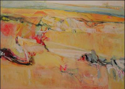 Untitled 3, 2004, acrylic on canvas, 90x110cm