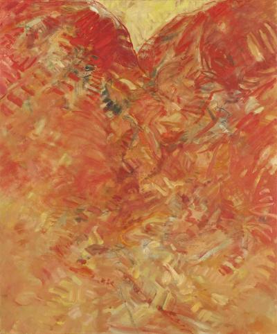 Anticpation 1, oil on canvas, 2010, 120x100cm