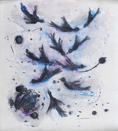 untitled 12, 2014, acrylic on canvas, 70x65cm