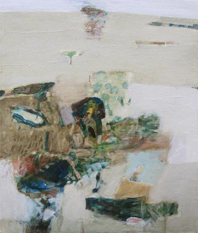 Level, 2011, Acrylic on canvas, 57x51cm