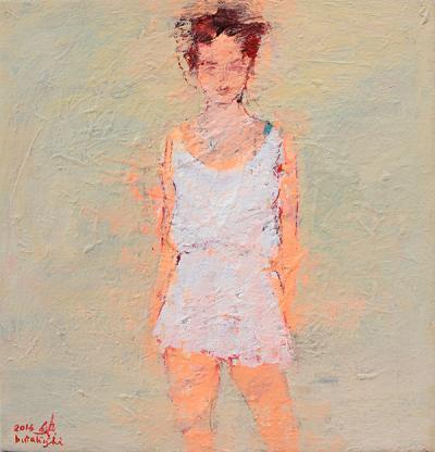 Untitled 3, 2015, Acrylic on canvas, 47x45cm