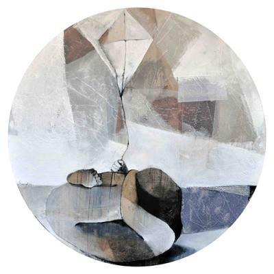 Dialogue 8, Mixed media on canvas, 140X140 cm