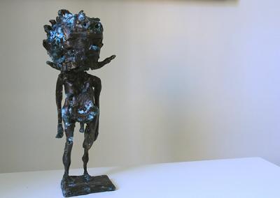 MOSTACHU, Bronze, 34x10cm