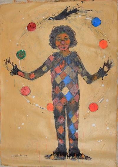 untitled 1, 2014, acrylic on canvas, 100x70cm