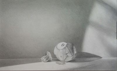 Untitled, 2016, pencil on paper, 30x50cm