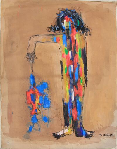 untitled 10, 2014, acrylic on canvas, 118x89cm