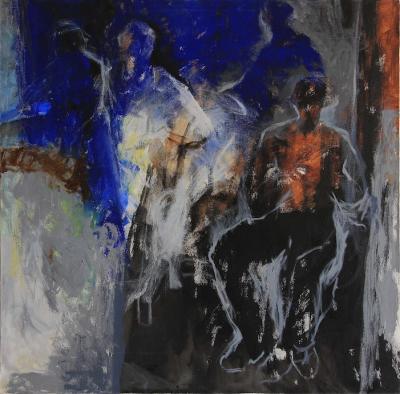 Untitled 21, 2014, Acrylic on canvas, 70x71cm