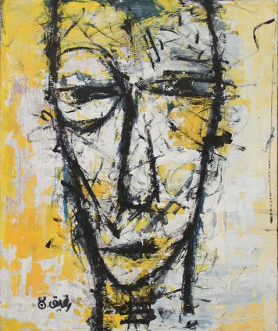 Untitled, 2011, acrylic on canvas, 120X100 cm