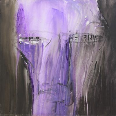 Untitled, acrylic on canvas, 100X100 cm