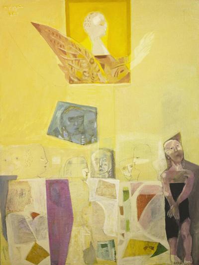 Icarus 3, 2015, mixed media  collage on vanvas, 120x90cm