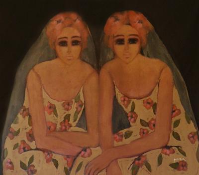 Breathless 14, 2015, Acrylic on canvas, 120x140 cm
