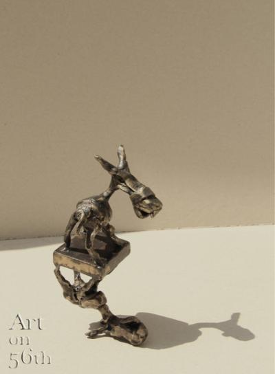Untitled 11, 2018, Bronze, 17x9 cm