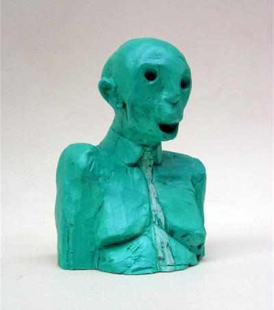 Dead man, 2016, Resine Acrylic, 13.5x6x10cm