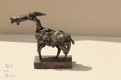 Untitled 1, 2016, Bronze, 16x17 cm