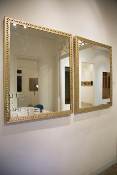 The Royals, Brass, 100 x 80 cm