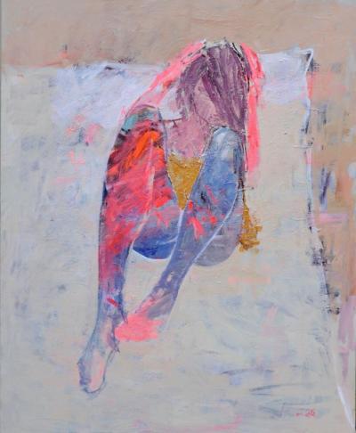 Untitled 47, 2016, acrylic on canvas, 160 x 130 cm