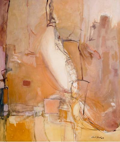 Ruins and Traces Series #8, 2008, oil on canvas, 170x200cm
