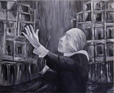 Orchestration, 2014, Acrylic on canvas, 100x120cm