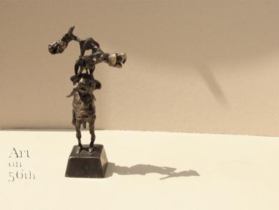 Untitled 16, 2017, Bronze, 27x7 cm