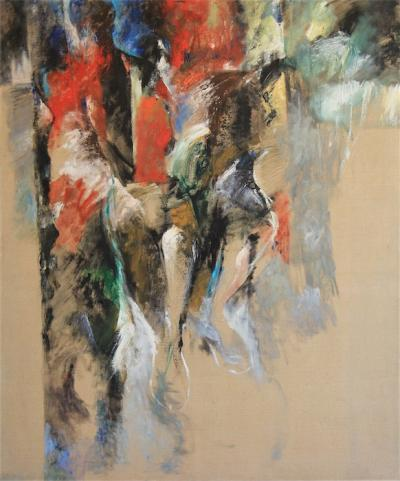Untitled 42, 2006, Oil on canvas, 120x100cm