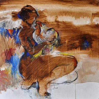 Untitled 11, 2016 Acrylic on canvas 62x62 cm