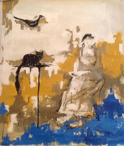 untitled 3, 2013, acrylic on canvas, 120x100cm