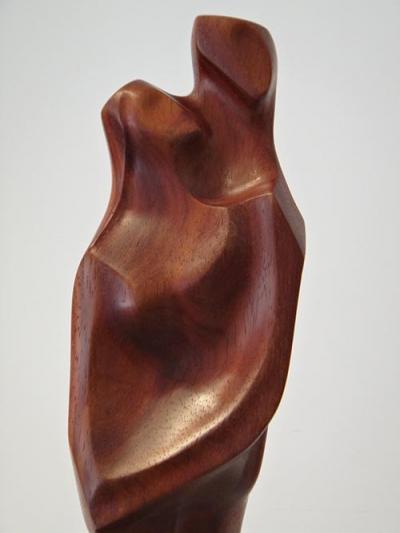 Fusion 2, Teak wood, 70cm