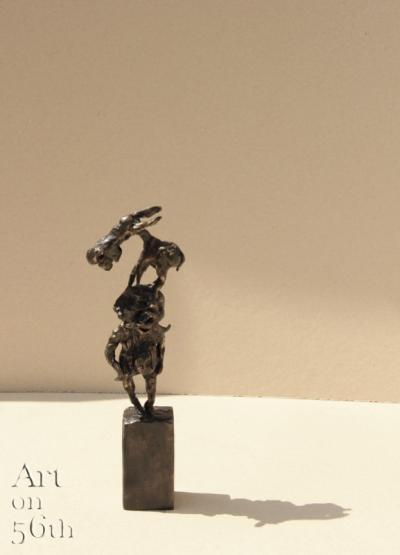 Untitled 23, 2018, Bronze, 26 x 8 cm