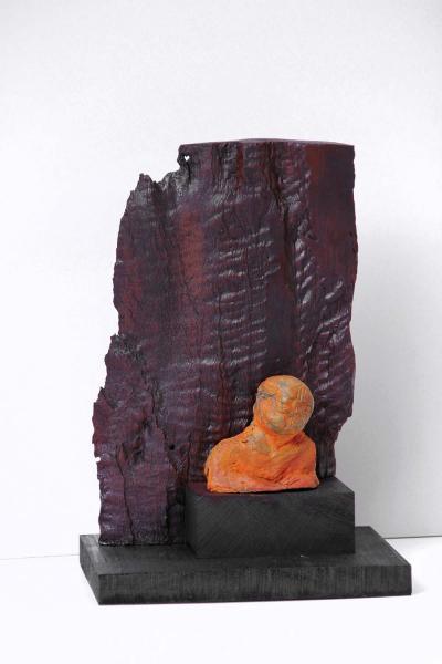 3-Untitled 8, 2013, Wood, 30 cm
