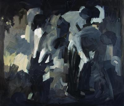 Palm Grove, 2011 Oil on linen 160x188 cm
