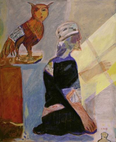 Maari, 2008, Acrylic on canvas, 73x60cm.